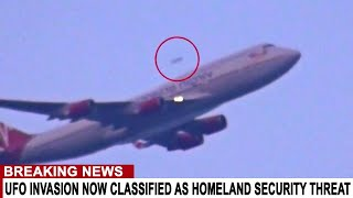 BREAKING: UFO INVASION NOW CLASSIFIED AS HOMELAND SECURITY THREAT