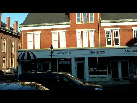 Brief Tour Of Downtown Andover Mass