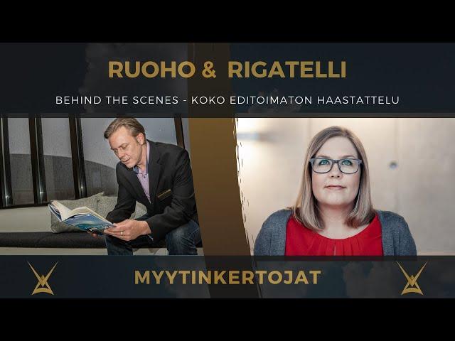Ruoho&Rigatelli - Behind the Scenes - koko leikkaamaton haastattelu