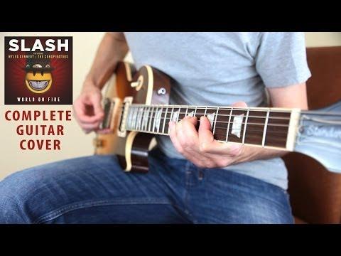 Slash – World On Fire – Full Guitar Cover by Mash and Flutter