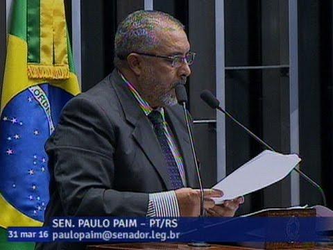 Paulo Paim Diz Que Apoia Investigação Sobre Políticos Que Teriam Recebido Doações Da Odebrecht