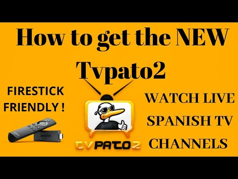 How to get live spanish channels in HD with the new Tvpato2 18
