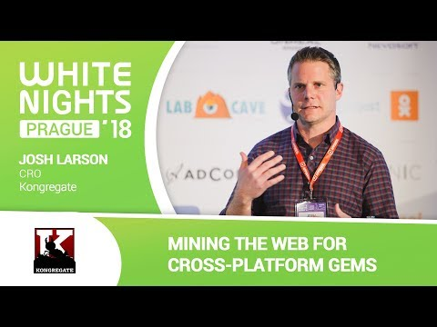 Josh Larson (Kongregate) - Mining the Web for Cross-Platform Gems