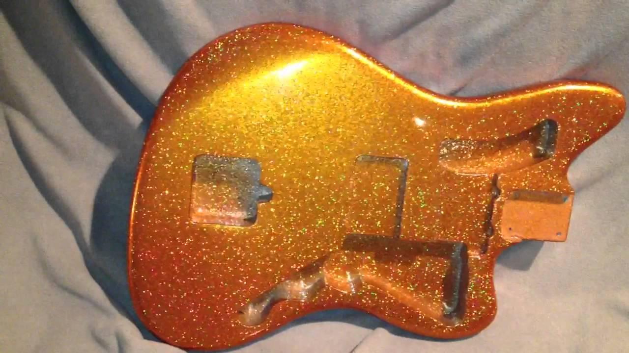 Light Gold Car Paint