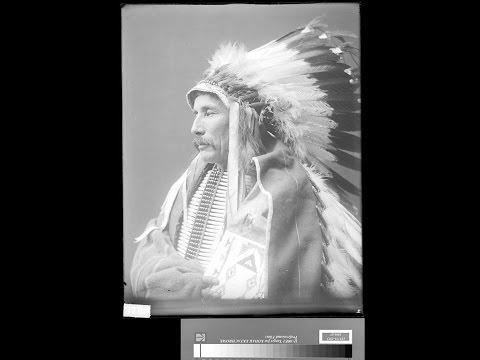 Музыка и старые фото коренных жителей Северной Америки