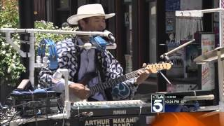 Little Tokyo's One Man Band