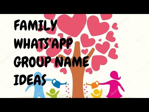 Family WhatsApp Group Names...👨‍👩‍👧‍👦