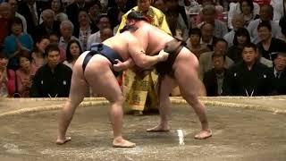 Kakuryu vs Hakuho - Natsu 2018, Day 15