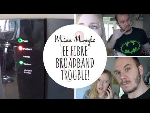 48 HOURS WITHOUT INTERNET | EE FIBRE BROADBAND TROUBLE | Miss Moogle