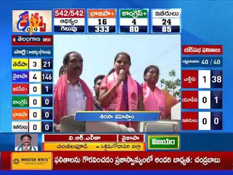 10 PM | Ghantaravam | News Headlines | 23rd May 2019 | ETV Telangana