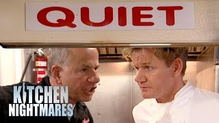 QUIET! No Talking In The Kitchen! - Kitchen Nightmares