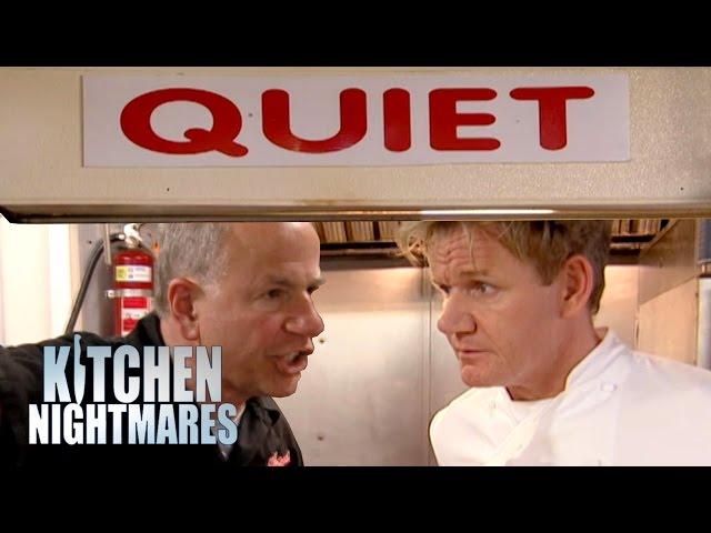 QUIET! No Talking In The Kitchen! | Kitchen Nightmares