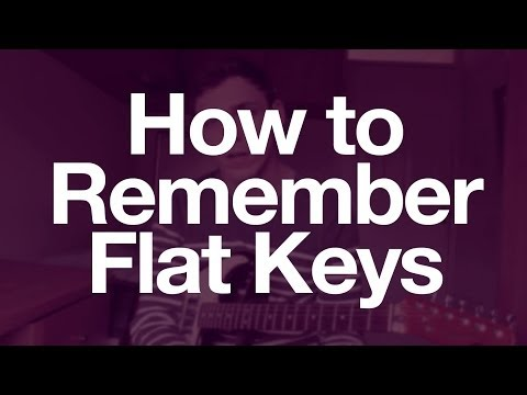 Get Music Theory - Lesson 3: Easily Remember Flat Keys