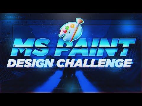 *IMPOSSIBLE* MS PAINT DESIGN CHALLENGE! 🎨