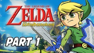 The Legend of Zelda The Wind Waker HD Walkthrough Part 1 - Sword & Shield (Wii U Gameplay)