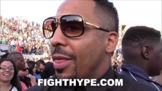 (WOOO!!) ANDRE WARD EXCITED AND AMPED UP AFTER ANDRE BERTO'S KO OF ORTIZ; EAGER TO SUPPORT AMIR KHAN