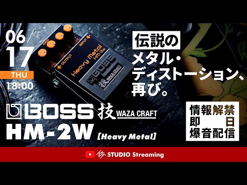 【伝説のメタル・ディストーション、再び。】BOSS HM-2W [Heavy Metal]【情報解禁即日爆音配信】