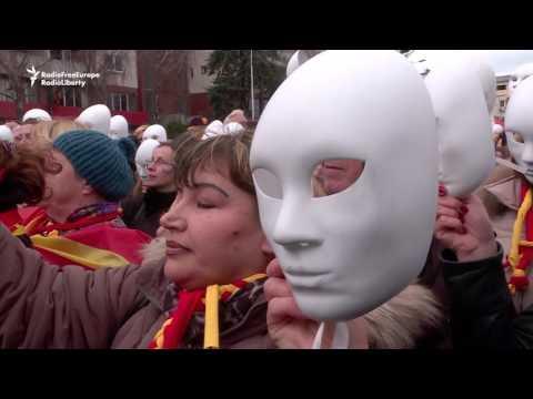 Macedonia Street Protests Enter Third Week