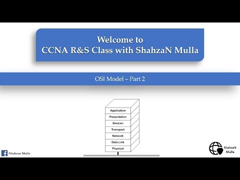OSI Model Demystified | CCNA Routing and switching with Shahzan Mulla - Part 2 Hindi / Urdu