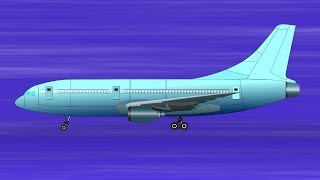 Airplane | videos for kids | air vehicles for children