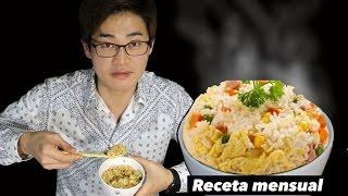 Cómo hacer Arroz Frito Chino (Pero de una manera coreana SUPER fácil)