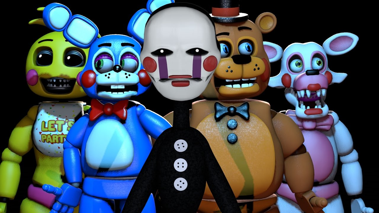 [sfm fnaf ] puppet song preview