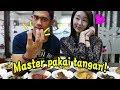 Belajar makan pakai tangan dari Orang Padang ft Tanboy kun