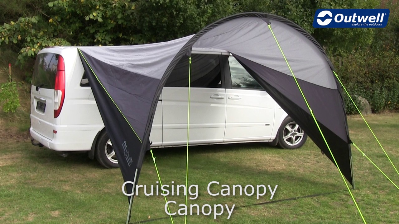 Outwell Cruising Canopy | Innovative Family C&ing & Outwell Cruising Canopy | Innovative Family Camping - YouTube