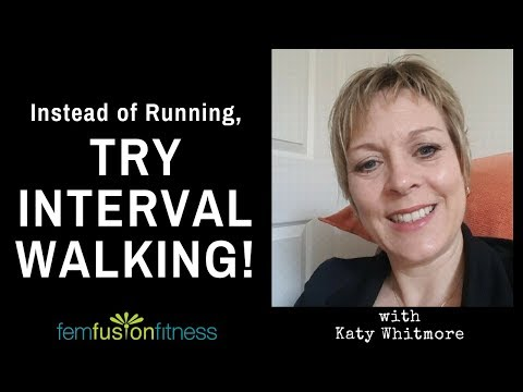 Interval Walking (Why & How!): Interview w/ Katy Whitmore, PT {Fitness Friday}