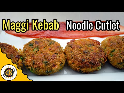 Maggi Cutlet |  Maggi Kebob Appetizer | Innovative (No potato) Indian Crispy Snack by CK Epsd. 337
