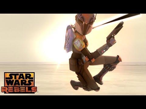 Heroes of Mandalore: The Attack Begins | Star Wars Rebels | Disney XD