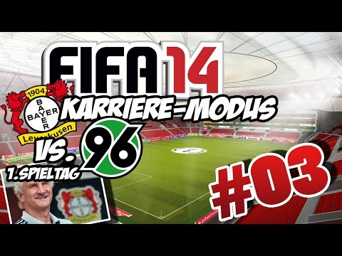 FIFA 14 | Karriere #03 - Hannover 96  - 1.Spieltag - Lets Play FIFA 14