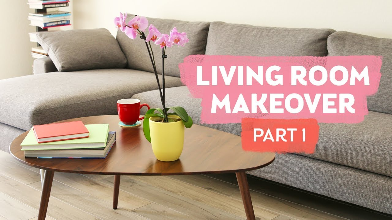 Living Room Makeover Part 1 Article Furniture Review Sea Lemon