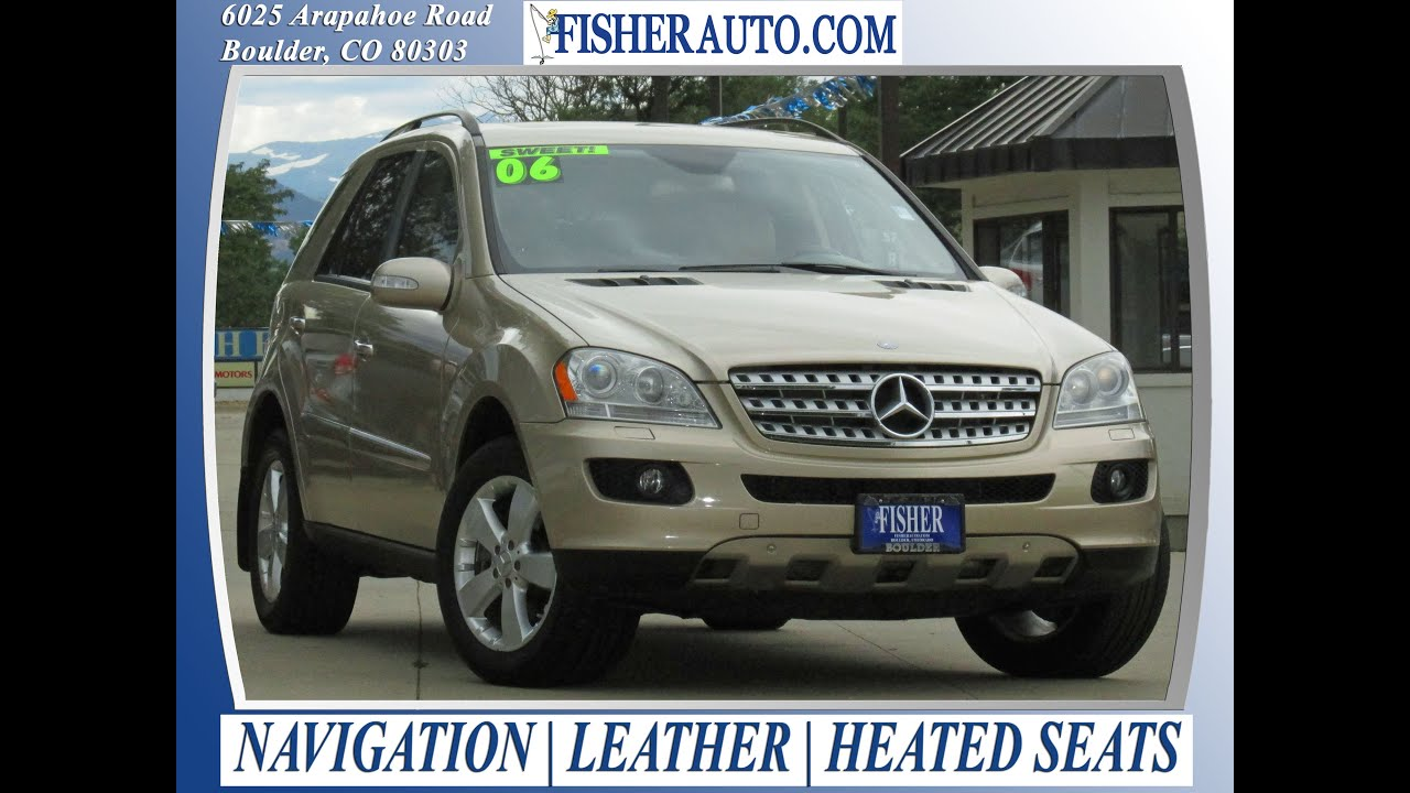 Used cars 2006 mercedes benz ml500 5 l boulder for Mercedes benz boulder