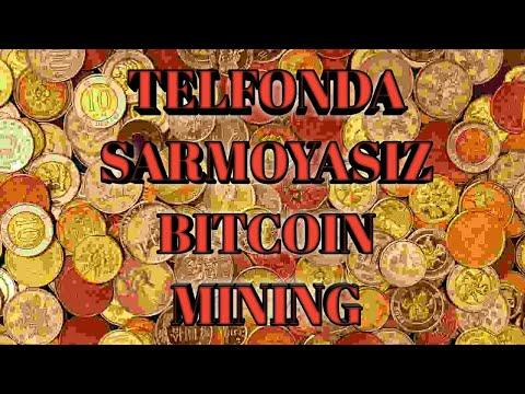 bitcoin mining qilish