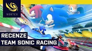 Recenze Team Sonic Racing. Modrý ježek se opět pustil do boje s Mariem na poli závodních her