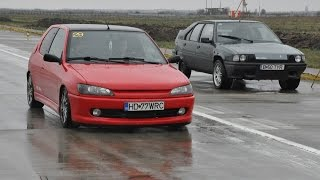 Peugeot 306 D-turbo XUD9 vs Citroen BX D-turbo XUD12 - HD 1080p