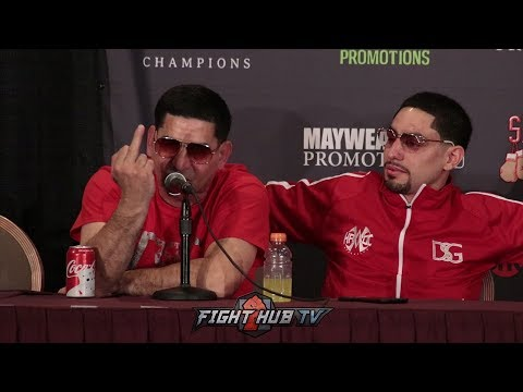 HILARIOUS! ANGEL GARCIA GOES OFF ON FANS & MEDIA CALLING FIGHTERS BUMS