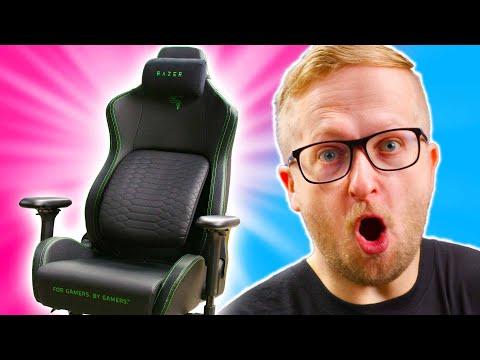 Déballage de la PREMIÈRE chaise de jeu de Razer! - Iskur