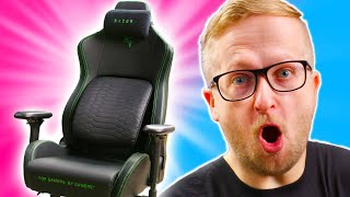 Unboxing Razer's FIRST Gaming Chair!