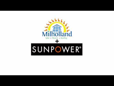 SunPower by Milholland Electric commercial San Diego Solar Installers