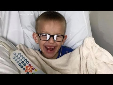 A little boy from Kosovo travels to New York for life-changing heart surgery