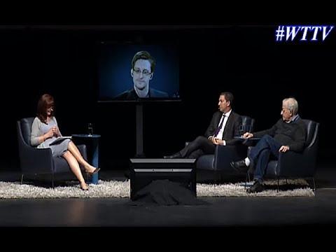 Edward Snowden, Glenn Greenwald & Noam Chomsky - February