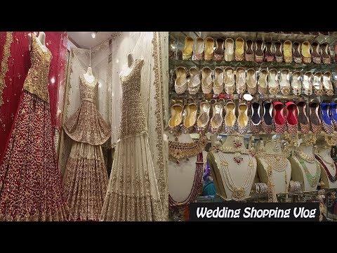 Pakistani Bridal Dresses   Wedding Shopping From Local Bazaar Feat. Anarkali