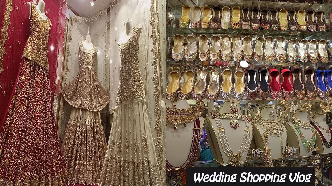 Pakistani Bridal Dresses Wedding Shopping From Local