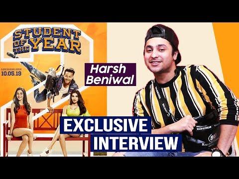 Student Of The Year 2   Harsh Beniwal Exclusive Interview   Tiger Shorff, Ananya, Tara Sutaria