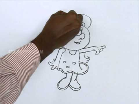 How To Draw A Baby Doll Youtube