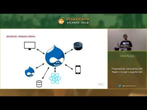 DCATL 2018 - Progressively Decoupling with React + Solr - Chris Russo on YouTube
