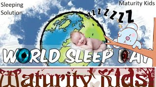 World Sleep day 2019 | best time for sleeping | Sleeping Solution
