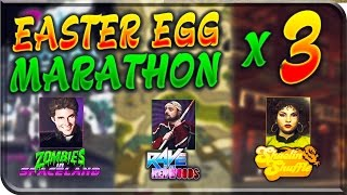 EASTER EGG MARATHON - SHAOLIN SHUFFLE / RAVE IN THE REDWOODS / ZOMBIES IN SPACELAND + GnS